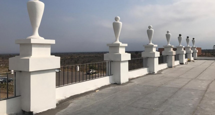 Avanza la obra de La Recova: otro atractivo turístico para La Punta