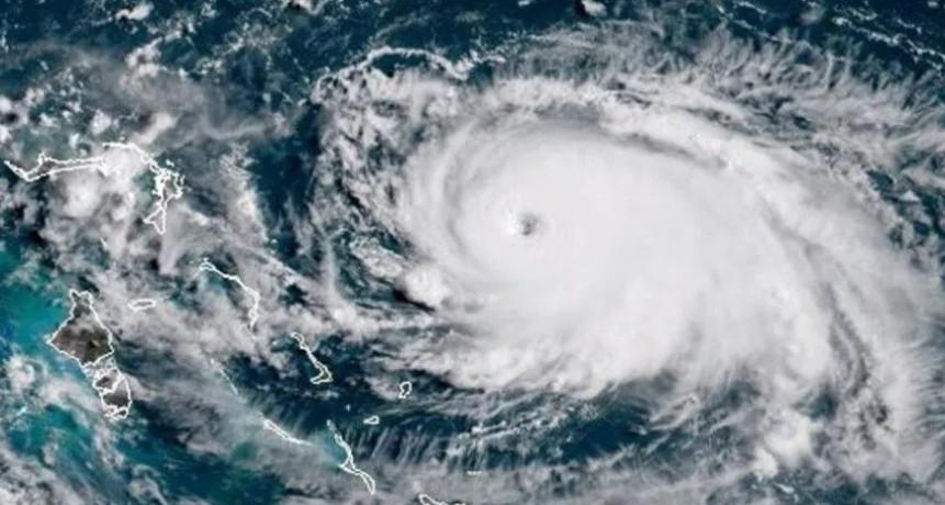 El huracán Dorian alcanzó la categoría 4 antes de llegar a Estados Unidos