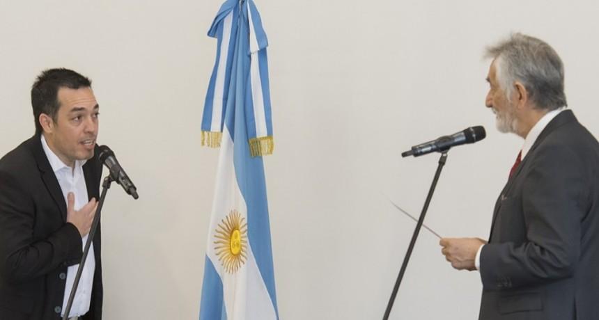 El gobernador le tomó juramento a Luciano Anastasi como ministro de Seguridad y a otros seis funcionarios