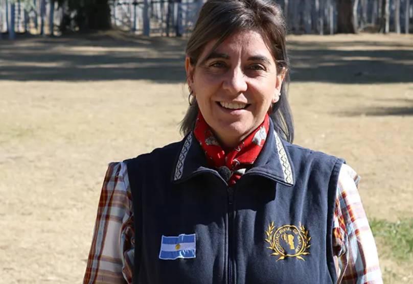 Yeny Yurchag fue electa presidenta de la Sociedad Rural de San Luis