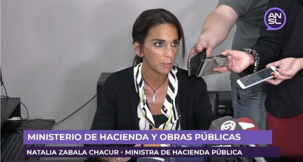 La Ministro de Hacienda Pública se refirió al presupuesto provincial y a la deuda de Nación