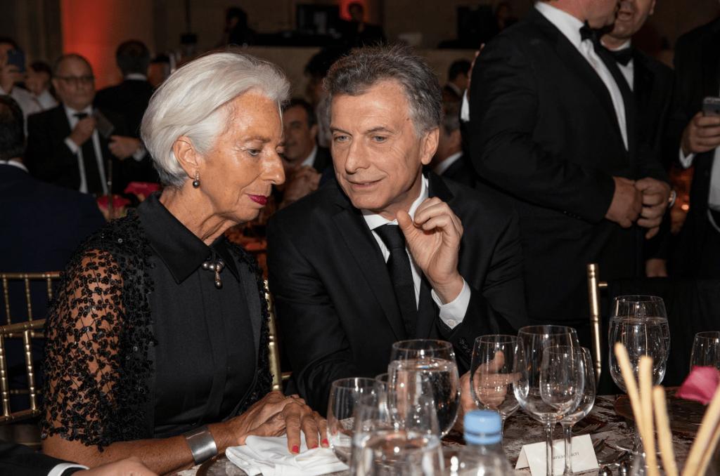"""Macri y una relación """"especial"""" con Christine Lagarde"""