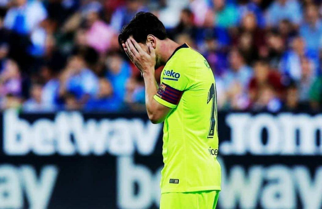 Barcelona perdió con el último del campeonato español