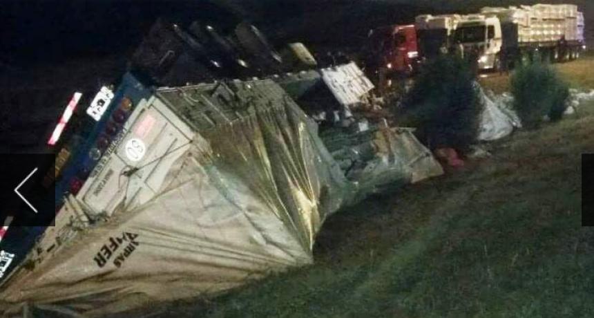 Fraga: murió un camionero en la Autopista de las Serranías Puntanas