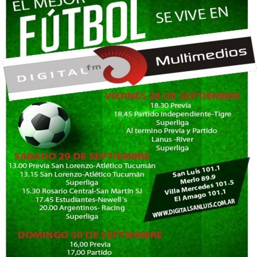 El mejor futbol se vive en Digital San Luis