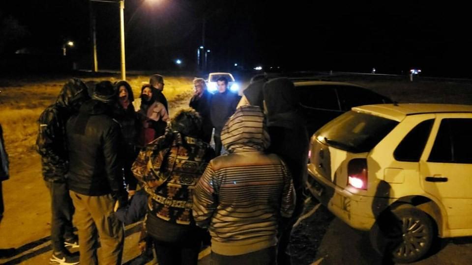Vecinos del norte de la capital reclamaron por un ingreso más seguro a sus barrios y Vialidad Nacional se comprometió a ayudarlos