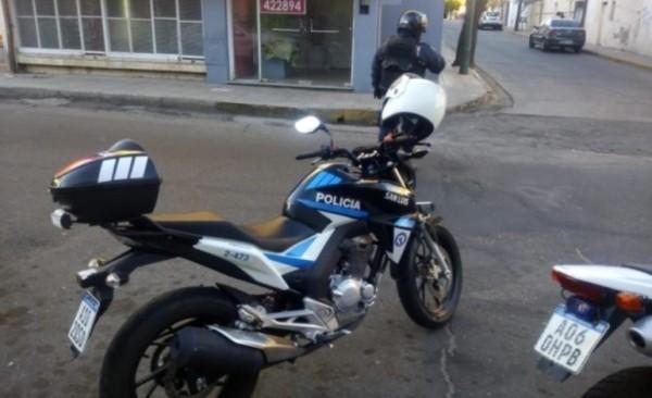 San Luis: detuvieron a un joven que intentó arrebatarle la cartera a una mujer
