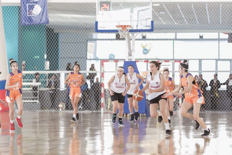 El Argentino de Selecciones de Básquet Femenino U13 se juega en el Campus ULP