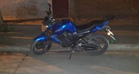 Villa Mercedes: policías recuperaron una moto robada
