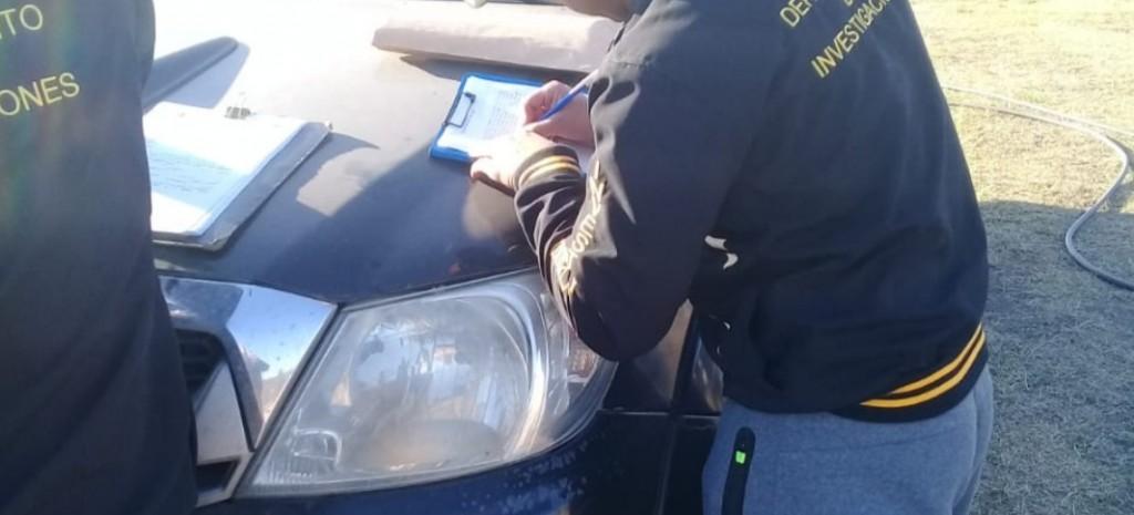 Juana Koslay: secuestraron una camioneta sustraída en Córdoba