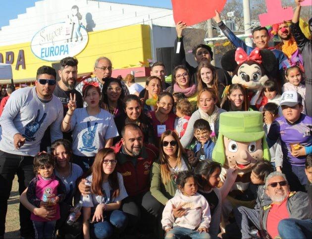 La magia del DivertiMóvil llenó de alegría y diversión la tarde en el barrio La Ribera