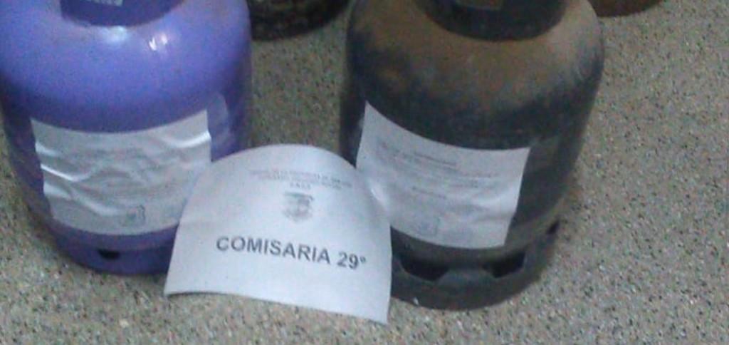 Villa Mercedes: detuvieron a dos hombres y recuperaron garrafas robadas