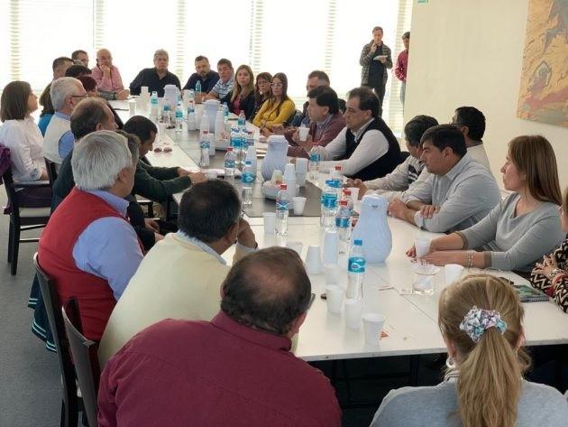Comisionados municipales expusieron ante el Consejo Económico y Social las necesidades de sus pueblos