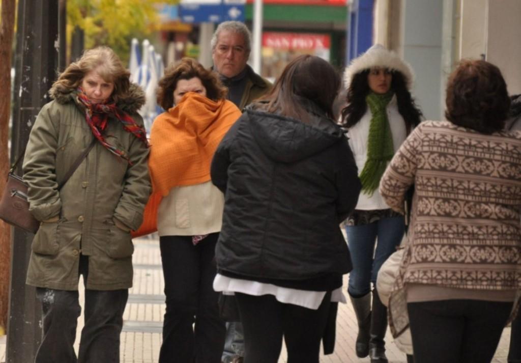 Sigue el alerta por vientos fuertes y fríos para el centro y norte provincial