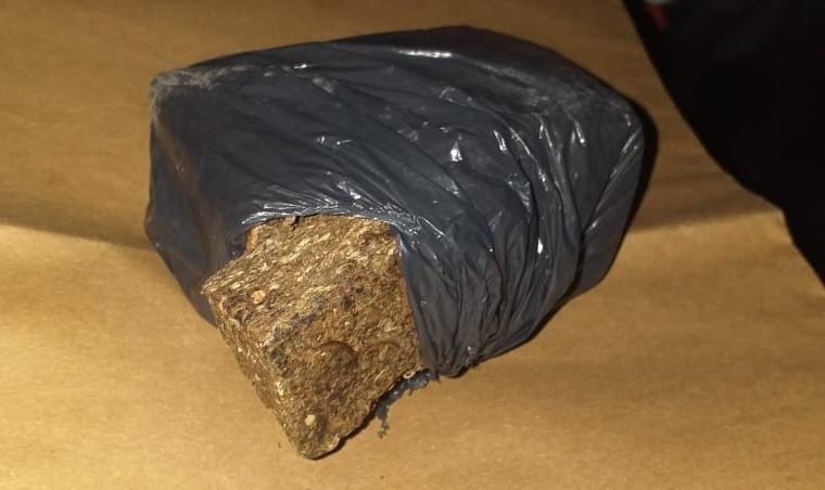 San Luis: detuvieron a un hombre con ¼ kilogramo de marihuana
