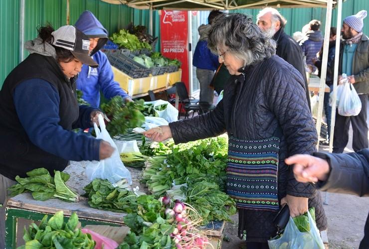 Se viene otro jueves de Feria con verduras de estación y Carnes San Luis en Sol Puntano