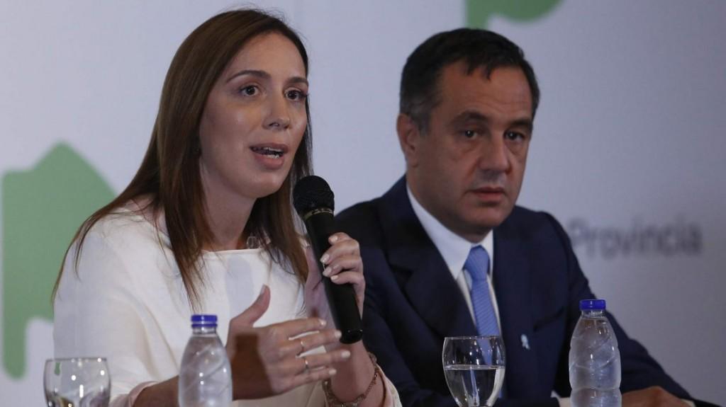 Vidal adelantó el pago de la cláusula gatillo para los docentes bonarenses