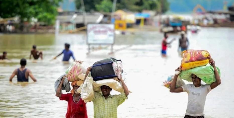 Lluvias trágicas en India: más de 60 muertos