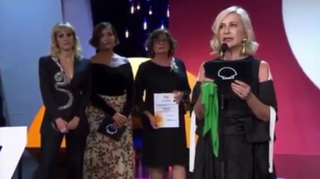 El documental sobre el aborto presentado por Muriel Santa Ana fue premiado en San Sebastián