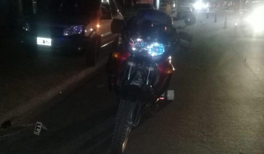 San Luis: falleció un peatón tras ser chocado por una moto