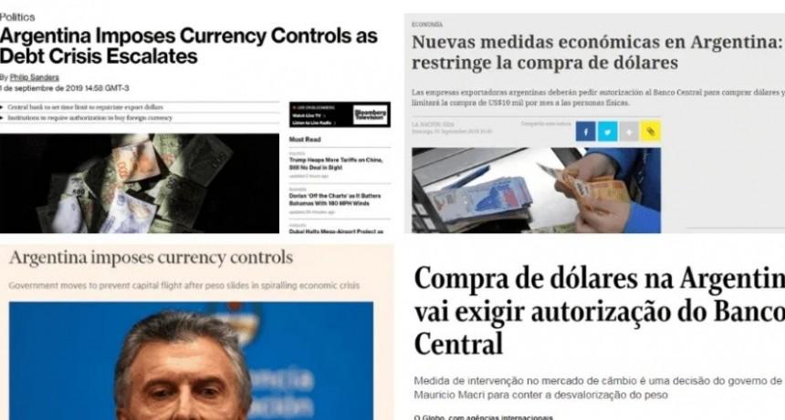 Repercusiones de la prensa internacional tras la vuelta del cepo