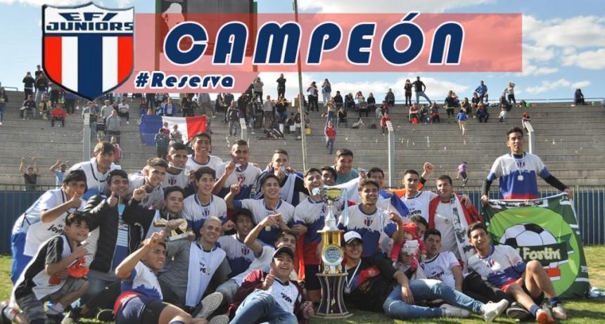 EFI Juniors campeón del Torneo de Reserva