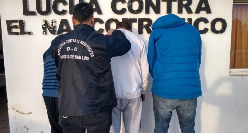 San Luis: cuatro hombres y dos mujeres fueron enviados a la cárcel