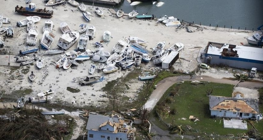 Asciende a 20 el número de muertos en Bahamas por el huracán Dorian