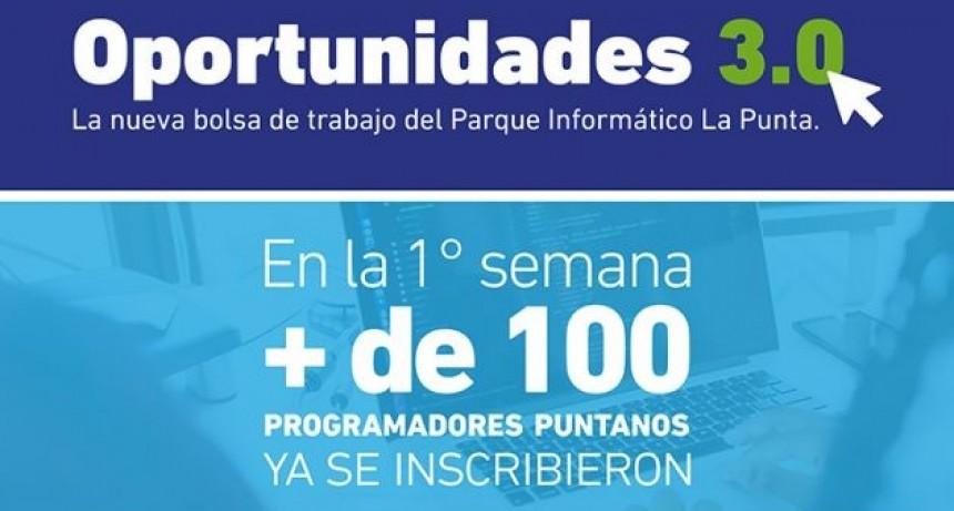 Oportunidades 3.0: la nueva bolsa de trabajo del Parque Informático La Punta