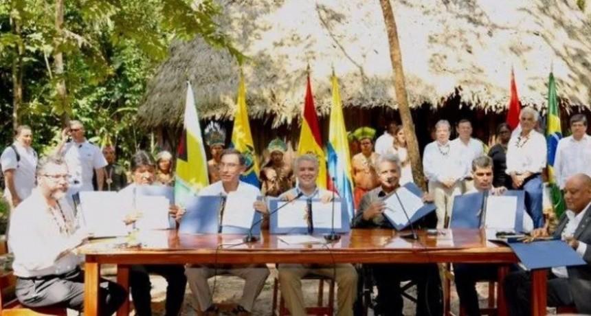 Amazonas: Siete países firmaron pacto para la preservación de recursos naturales