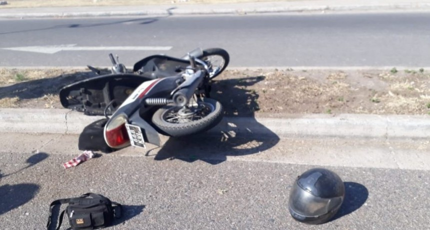 San Luis: detuvieron a dos motochorros que le habían robado la cartera a una mujer