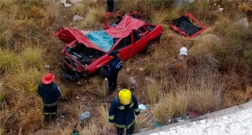 Accidente fatal: un hombre falleció en un accidente de tránsito en Lujan