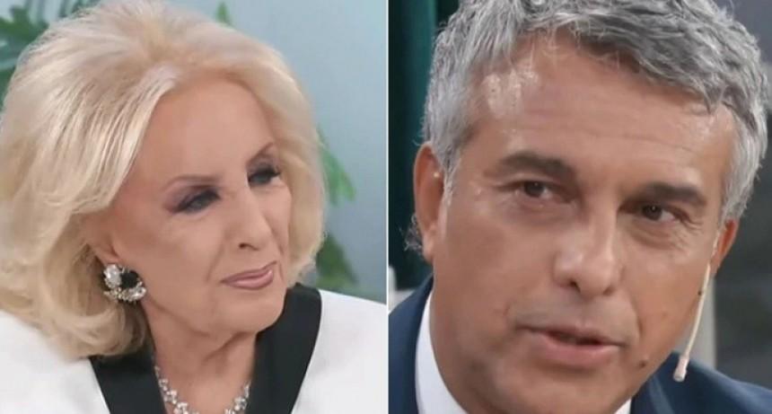 Otra vez Mirtha Legrand tuvo que pedir perdón: ahora a Mario Massaccesi