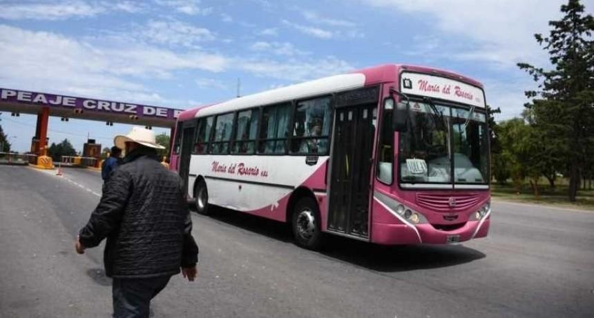 Interurbano: el Gobierno provincial otorgó una compensación económica a las empresas