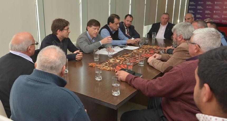 Ministros del Gobierno se reunieron con pastores evangélicos