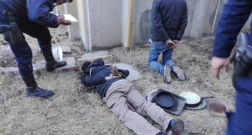 San Luis: detuvieron a tres hombres por robar elementos de una fábrica