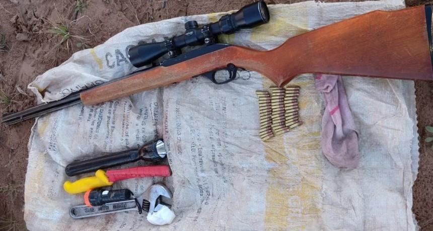 Villa Mercedes: detuvieron a dos motociclistas con armas