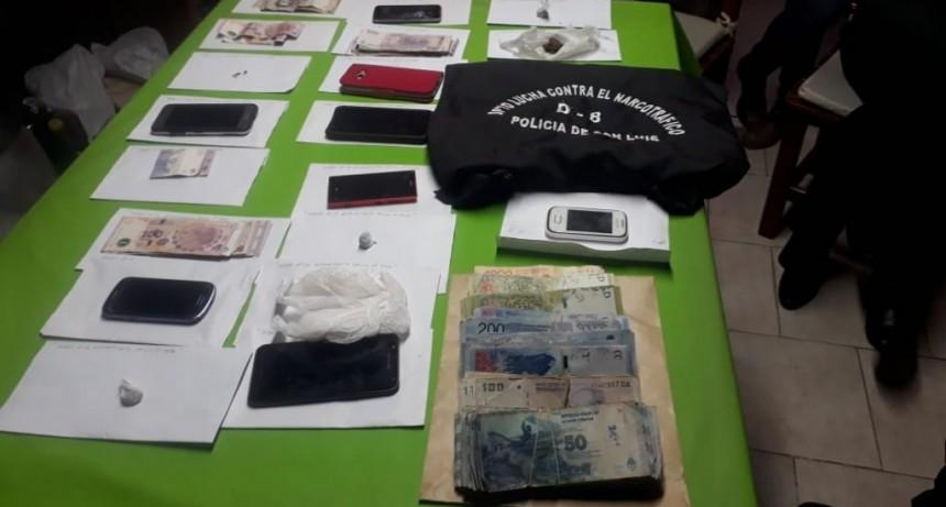 Villa Mercedes: anularon 9 centros de distribución de drogas