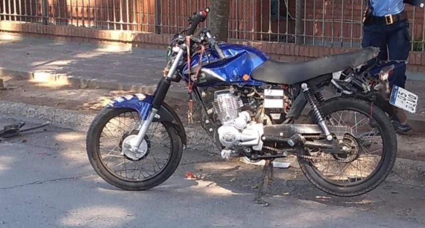 Villa Mercedes: falleció un joven motociclista que chocó tras robar un celular