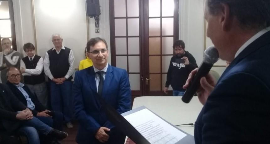 Jorge Lucero asumió como secretario de Gobierno de la Municipalidad