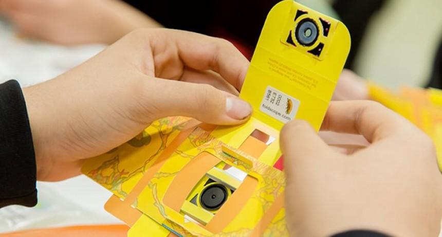 La semana próxima el Gobierno provincial retomará la entrega de foldscopes