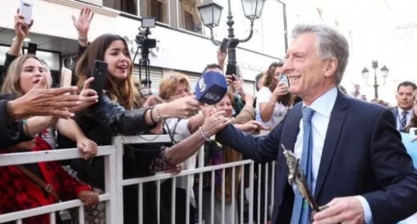 Marcha del #SíSePuede, la maratón proselitista de Mauricio Macri
