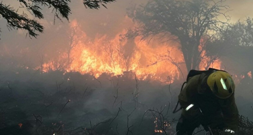 San Luis: bomberos sofocaron un incendio