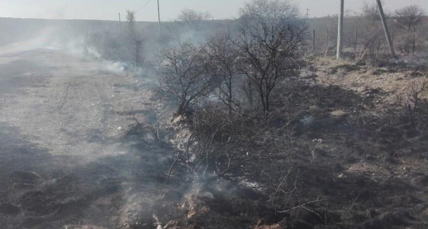 San Luis: Bomberos combatieron varios incendios registrados en las últimas horas