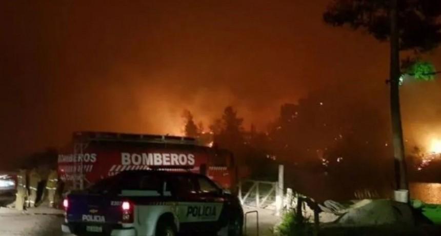 Incendio forestal en Córdoba: medio centenar de evacuados