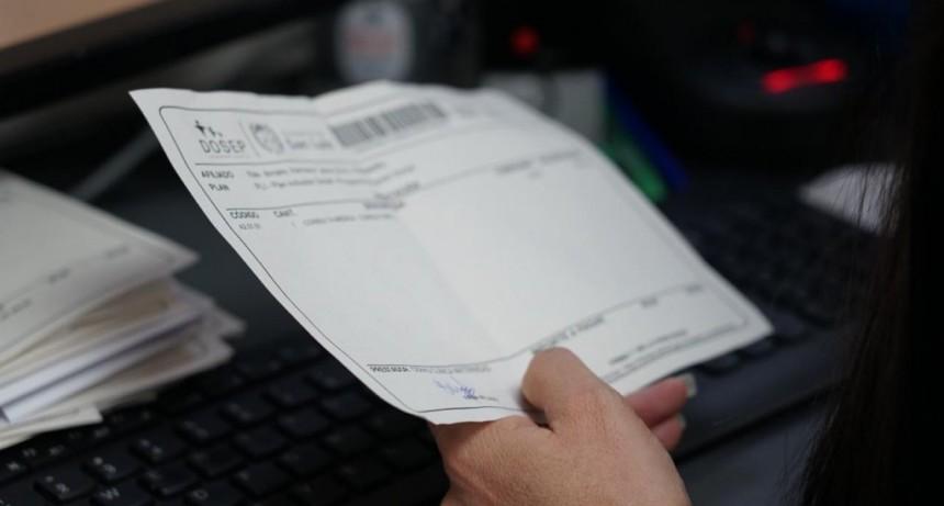 DOSEP comenzó a emitir todas sus órdenes en papel reciclado
