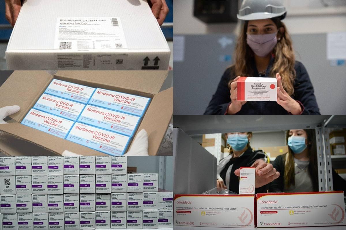 Llegaron a la provincia 21.970 dosis de vacunas: son de cinco laboratorios