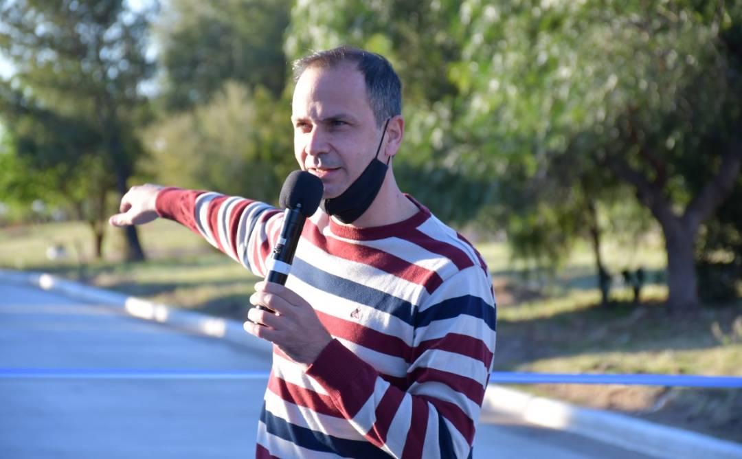 Martín Olivero habló sobre la inauguración de pavimento en la licitación 3 y sobre el festejo del día de la primavera en La Punta
