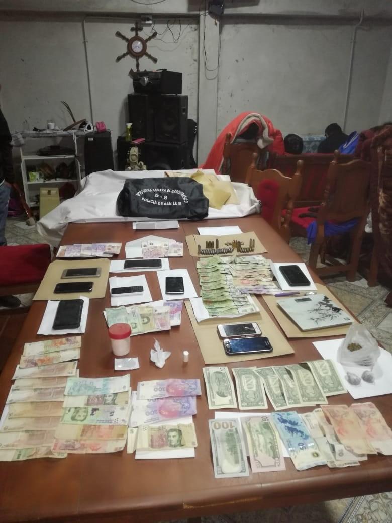 El Ministro de Seguridad destacó el trabajo de la Policía al desbaratar banda narco