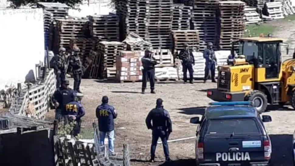 Encuentran 7 toneladas de explosivos en una finca de Córdoba